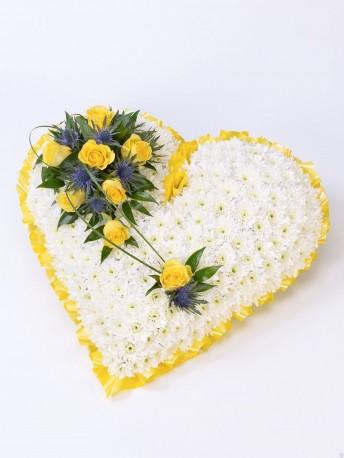 Classic Heart Yellow