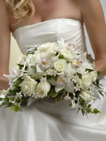 White On White Bouquet