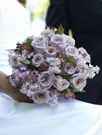 Soft Lilac Bouquet