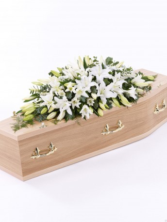 Lily Casket Spray White £160.00