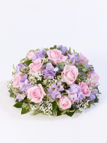 Rose and Freesia Posy Pink & Lilac