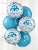 Baby Boy Balloon Bouquet