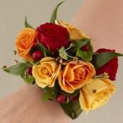Sunshine Roses Wrist Corsage