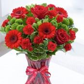 Happy Anniversary Vase