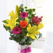 Happy Birthday Vase