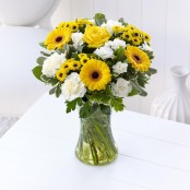 Colour Your Day with Sunshine Vase
