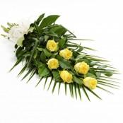 Simple Rose Sheaf Yellow