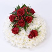 Posy Red & White