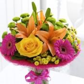 Vibrant Perfect Gift with Happy Birthday Balloon