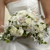 White On White Bouquet