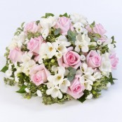 Scented Posy Pink & White