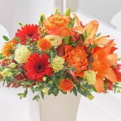 Warm Harvest Arrangement